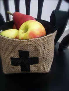 Small Coffee Sack Basket