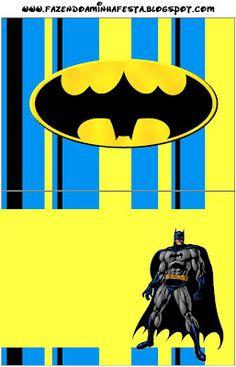 Imprimibles de Batman 4.