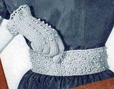Pearl Belt   Free Crochet Patterns