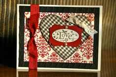 Stampin' Up! Valentine  by Krystal De Leeuw at Krystal's Cards and More