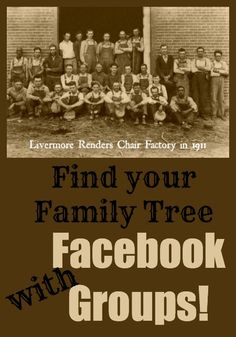 Tools: Find Your Family Tree Using Facebook Groups. #genealogy #resources