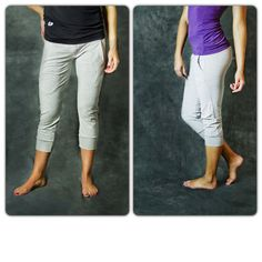 Get Loose Capris only $18.99!   Colors come in black, blue, and gray. Very flattering and super comfy!   Get them here: http://getfitwear.com/product/get-loose-capris/