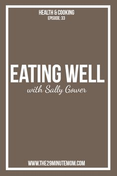 Episode 33: Eating W