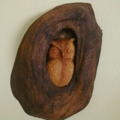 Owl Hollow by AdamswoodSculptures on Etsy