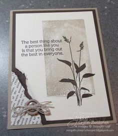 Clear Block Stamped World of Dreams Card by GWTW Junkie - Cards and Paper Crafts at Splitcoaststampers