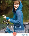 Interweave Crochet presents: A Step-By-Step Guide to Garment Construction with 5 Staff Favorite Patterns (eBook) how to crochet, Interweave Crochet, crochet patterns, how to put zippers in crochet, crochet closures, crochet finishings, seaming garments, eBook, download, digital, crochet sweater, cardigan, jacket, mitten, cheap crochet patterns