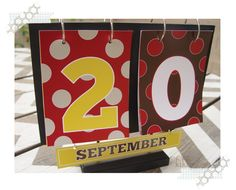 Free printables for each month plus instructions to make this cute calendar.  Fun for the kids.