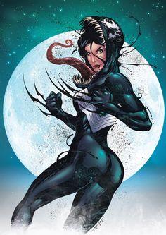 she-venom | she venom by marcelo mueller