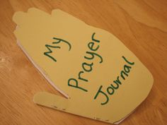prayer journal - idea from Little Blots of Faith.com