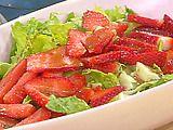 Salad w/Strawberry Balasamic Vinaigrette