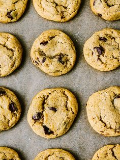 Sea salt chocolate chip cookies by Ashlae | oh, ladycakes, via Flickr