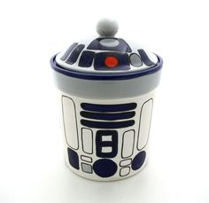 {R2D2 inspired Cookie Jar} so cute!