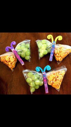 Cute snack idea. Party snacks, maybe?