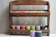 cool idea: spice rack to twine rack