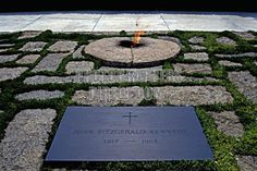 John F Kennedy Gravesite - Arlington National Cemetery, Washington, D.C.