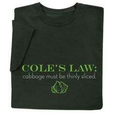 Cole's Law -- from Signals catalog