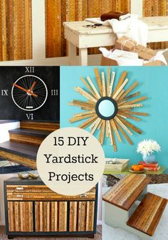 15 Awesome DIY Yardstick Projects - diycandy.com