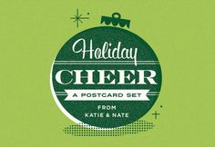 Holiday Cheer postcard pack by Eight Hour Day