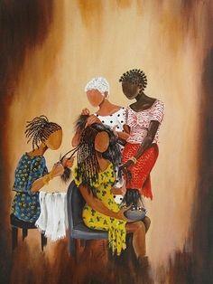 african american hair salon art | Black Beauty Salon Art & African American Hair Salon Posters