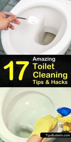 17 Amazing Toilet Cleaning Tips and Hacks - How to Clean a Toilet