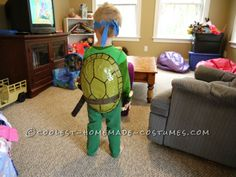 Coolest Daddy and Son Ninja Turtle Costumes ...This website is the Pinterest of birthday cakes