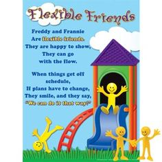 Flexible Friends Poster..great to go along with Social Thinking at the Elementary grade level.