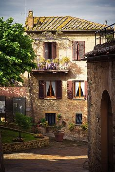 Monticchiello, Tuscany, Italy