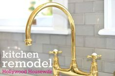 Hollywood Housewife kitchen remodel details