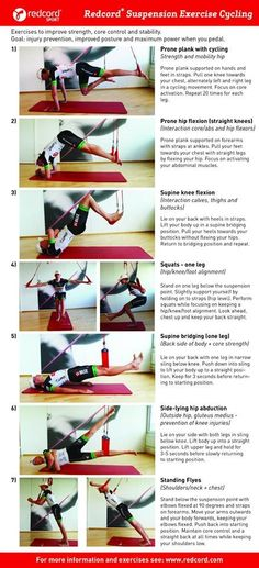 Redcord Exercises for cycling