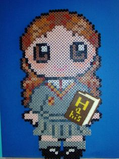 Harry Potter Hermione hama perler beads by Tania E.