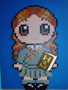 Harry Potter Hermione hama perler beads by Tania E.