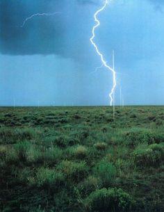 """R.I.P Walter De Maria """"The Lightning Field"""""""