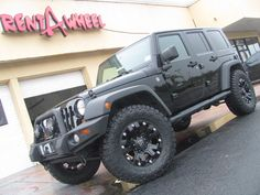 2008 Jeep Wrangler on 18-inch Monster Dropstar with 35-inch Nitto Trail Grapplers