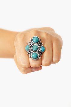 Veracruz Turquoise Ring
