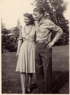 Dorothy and Evans, Jr.