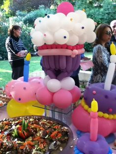 cute balloon decorations