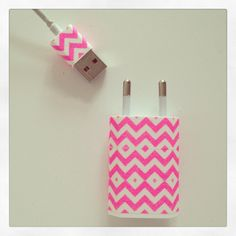 Easy DIY, this way no one will ever take your charger. #iphone #diy #maskingtape