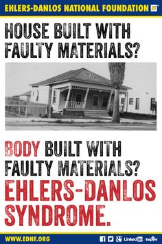Ehlers-Danlos National Foundation #EhlersDanlosSyndrome Awareness #EDS