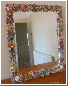 Bejewelled Mirror