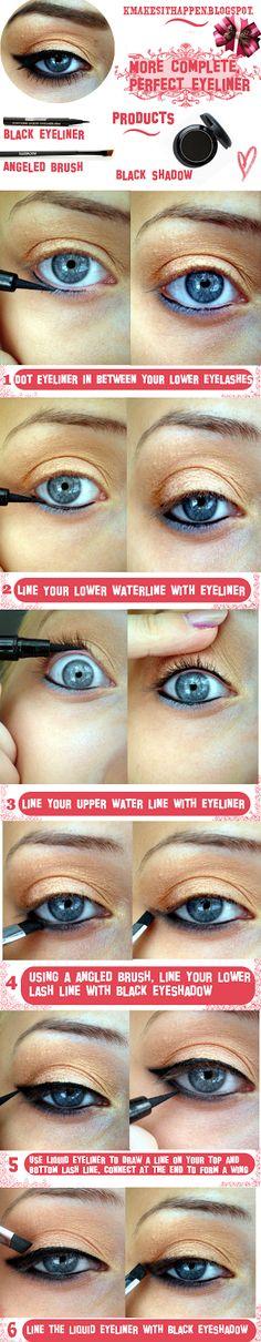 MAKEUP TRICKS – More complete, perfect, eyeliner