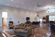 Morton Buildings custom home interior in Nashville, Tennessee.