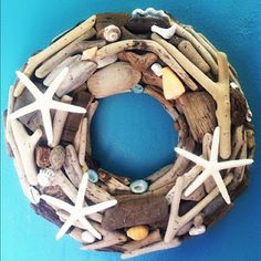 Driftwood summer wreath