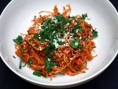 Fideo (Mexican Pasta with Vegetables and Chile)