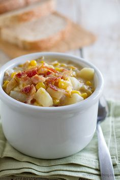 Crock Pot Corn Chowd