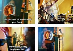River Song and Eleven. It's called marriage, honey.