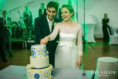 Tort z motywem ceramiki z Vietri | Wedding cake with Vietri ceramics' theme