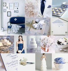 The Something Blue wedding
