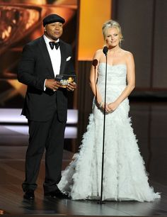 LL Cool J and Malin Akerman #Emmys