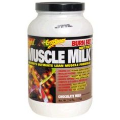 If I only drink Muscle Milk, I'll be able to fight anything. Especially Bears.