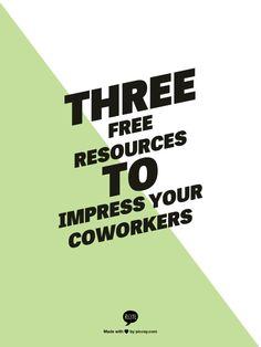 Three Resources